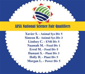 State and National Science Fair