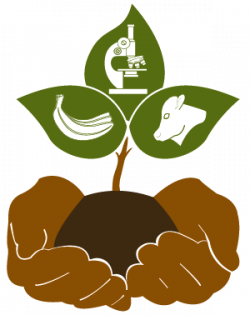 Symbols of science and agriculture